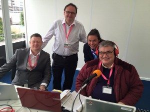 Working Hard at Cheltenham!