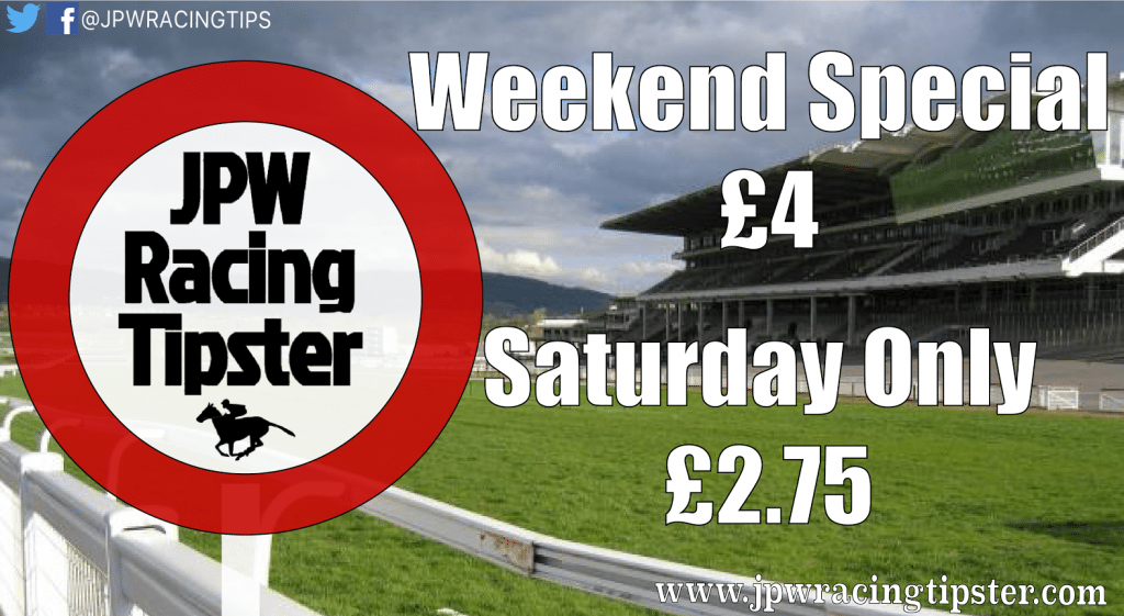 Weekend Special with JPW Racing Tipster